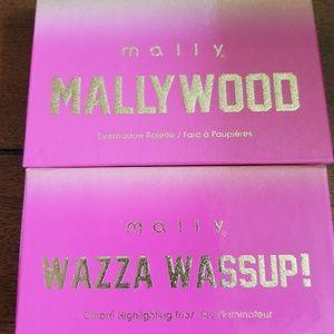 Mally highlighter plus eyeshadow Palettes